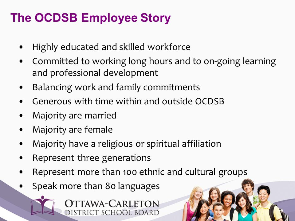 The OCDSB Employee Story