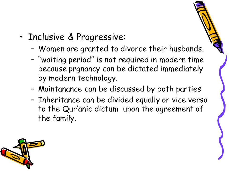Inclusive & Progressive: