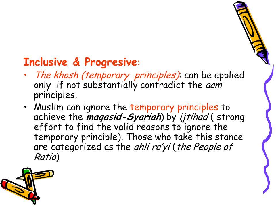 Inclusive & Progresive: