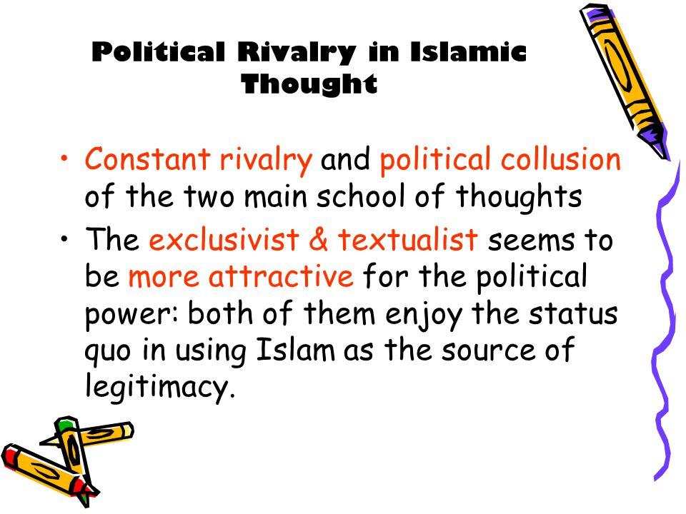Political Rivalry in Islamic Thought