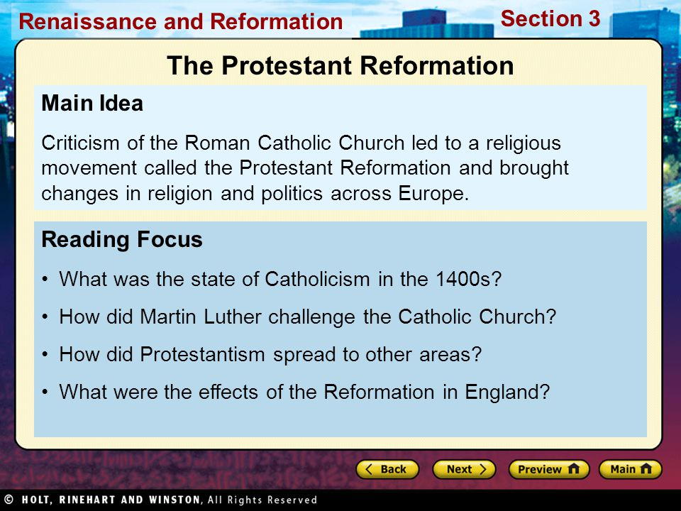 the spread and division of the protestant reformation Reformation divided: catholics, protestants and the designed chiefly to spread fear reformation anniversary of the protestant reformation.