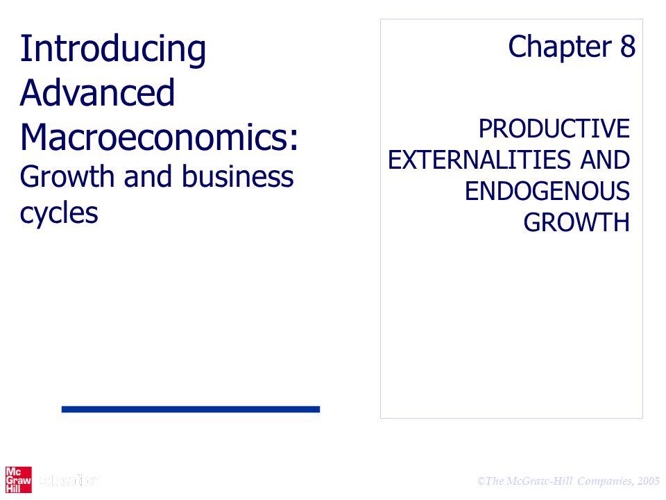 Advanced Macroeconomics: