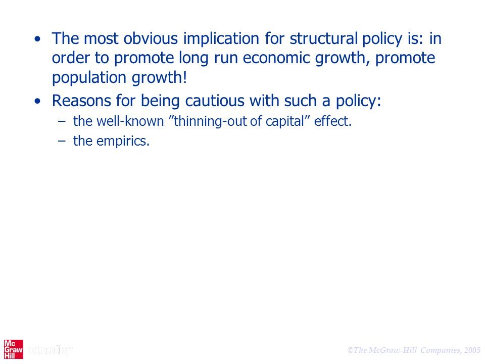 Reasons for being cautious with such a policy: