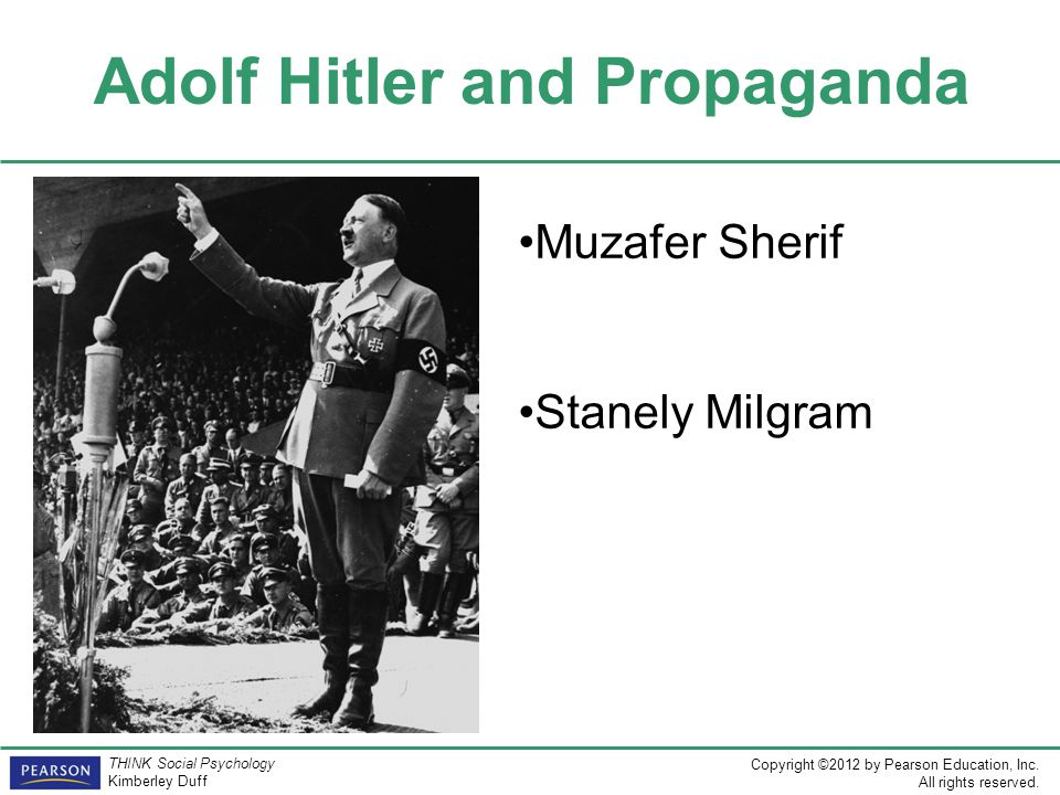 Adolf Hitler and Propaganda