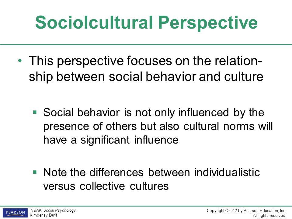 Sociolcultural Perspective