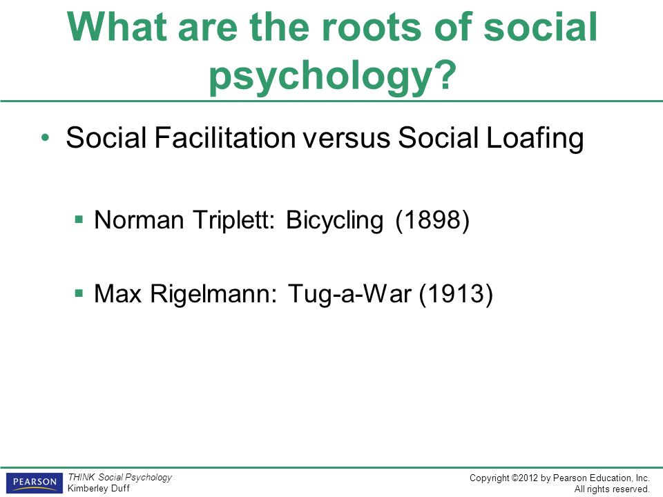 What are the roots of social psychology