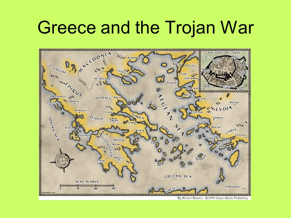 Greece and the Trojan War