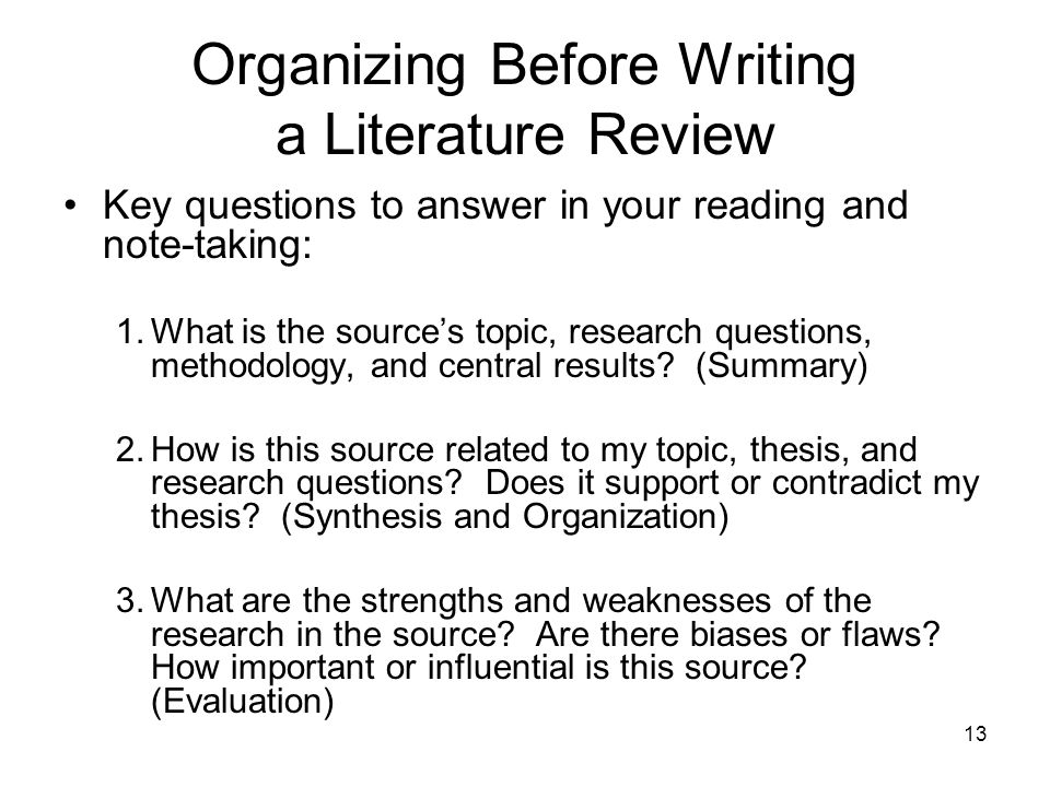 research question before or after literature review This also influences the type of research question we select the literature review before you continue to invest a lot of time and effort in a research.