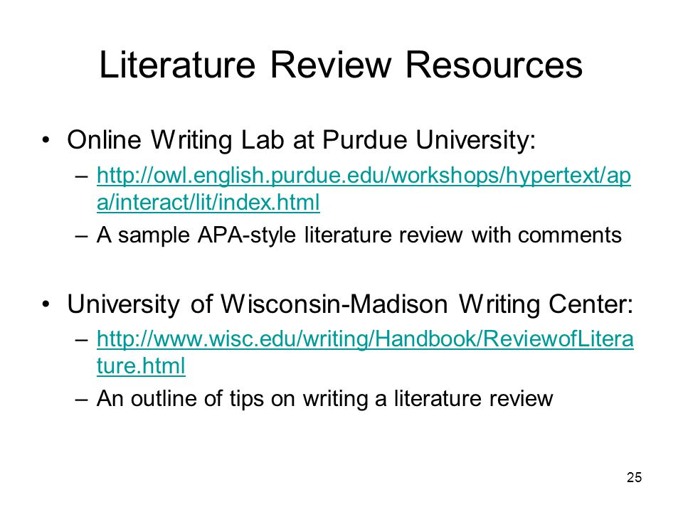 purdue owl review of related literature Purdue owl review of related literature graduate writing workshops: literature reviews – the purdue 10 jun 2014 a literature review requires the writer to perform.