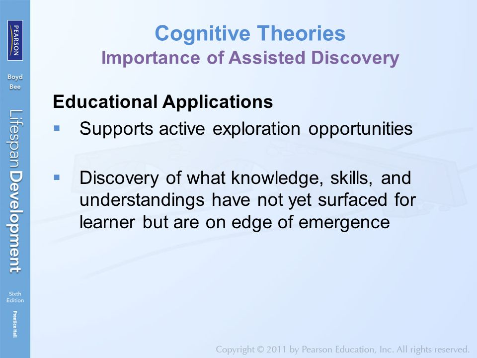 Cognitive Theories Importance of Assisted Discovery