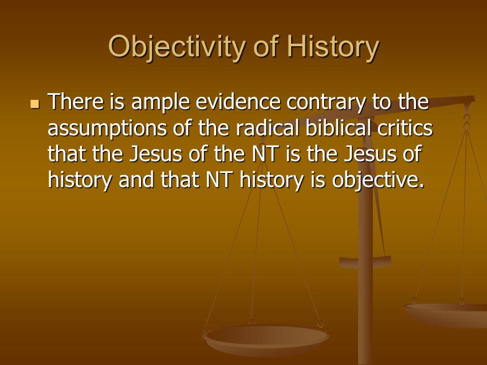 Objectivity of History