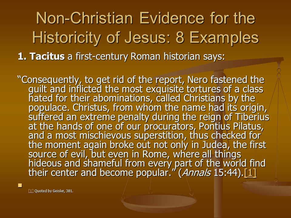 Non-Christian Evidence for the Historicity of Jesus: 8 Examples