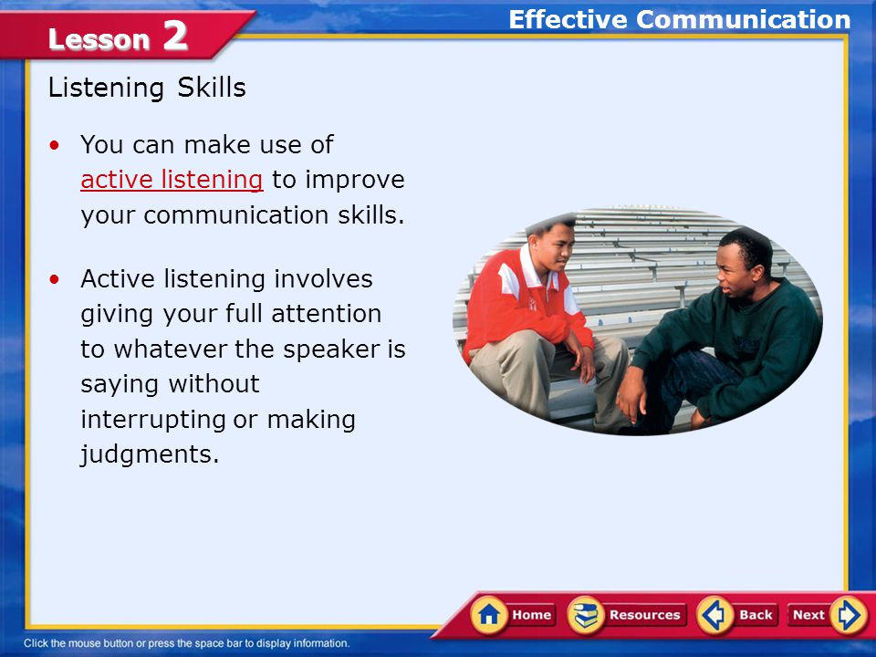 Communicating Effectively - ppt video online download