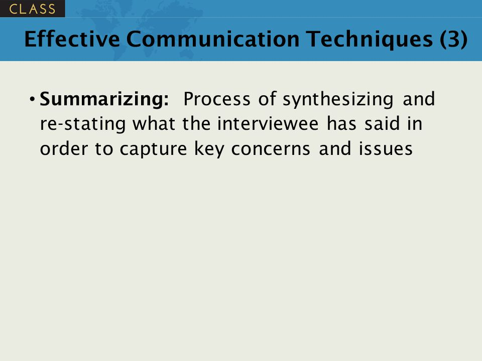 Effective Communication Techniques (3)