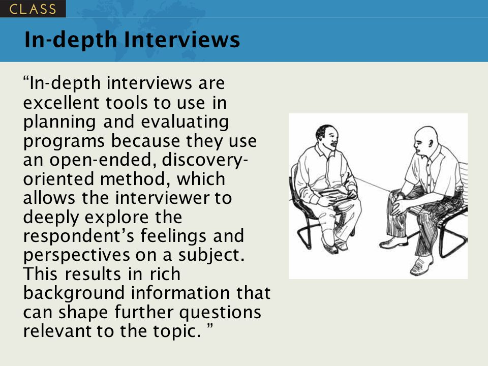 In-depth Interviews