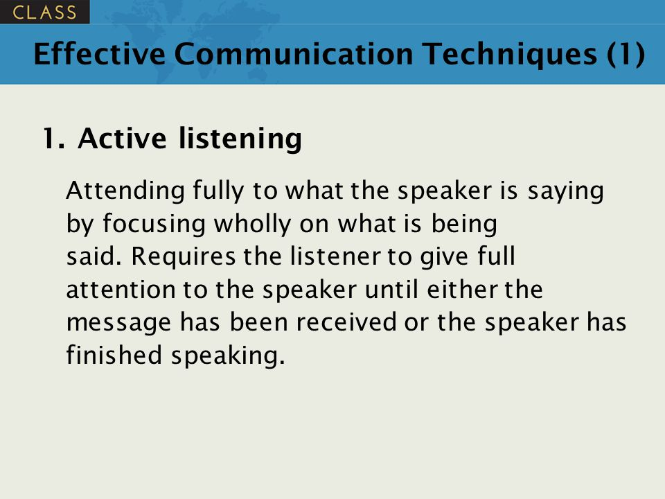 Effective Communication Techniques (1)