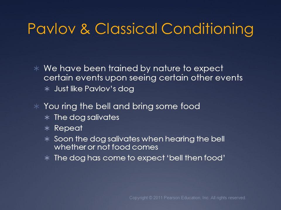Pavlov & Classical Conditioning