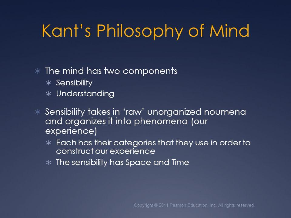 Kant's Philosophy of Mind