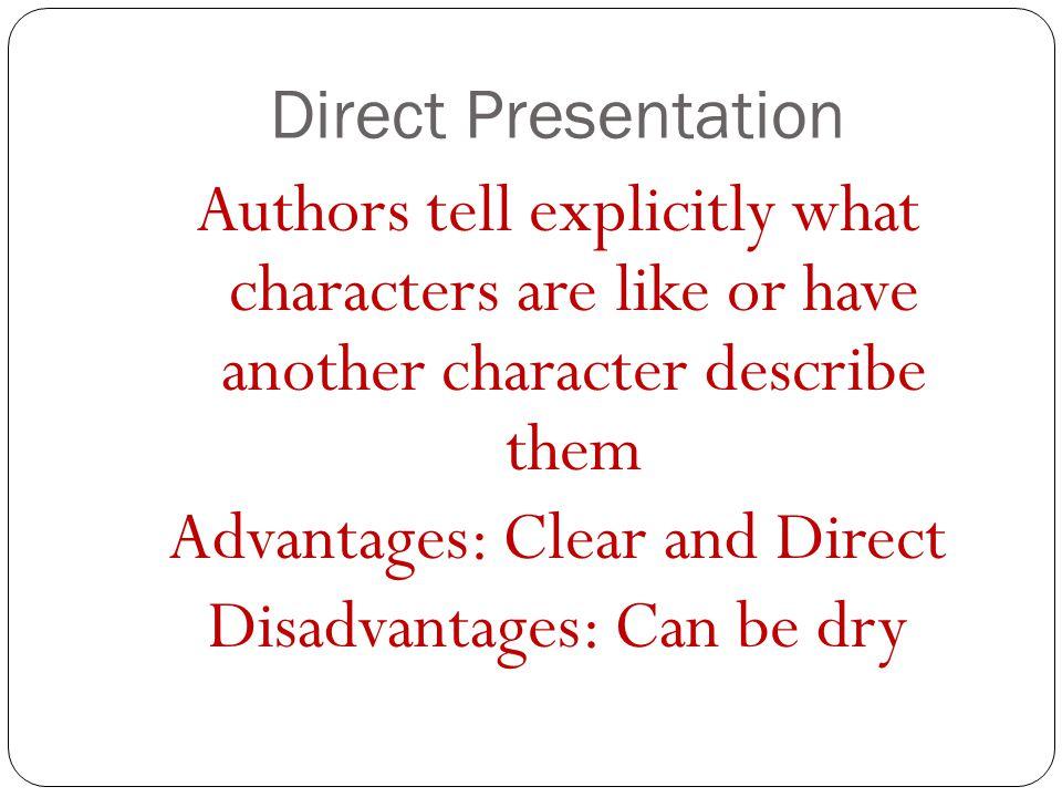 Direct Presentation