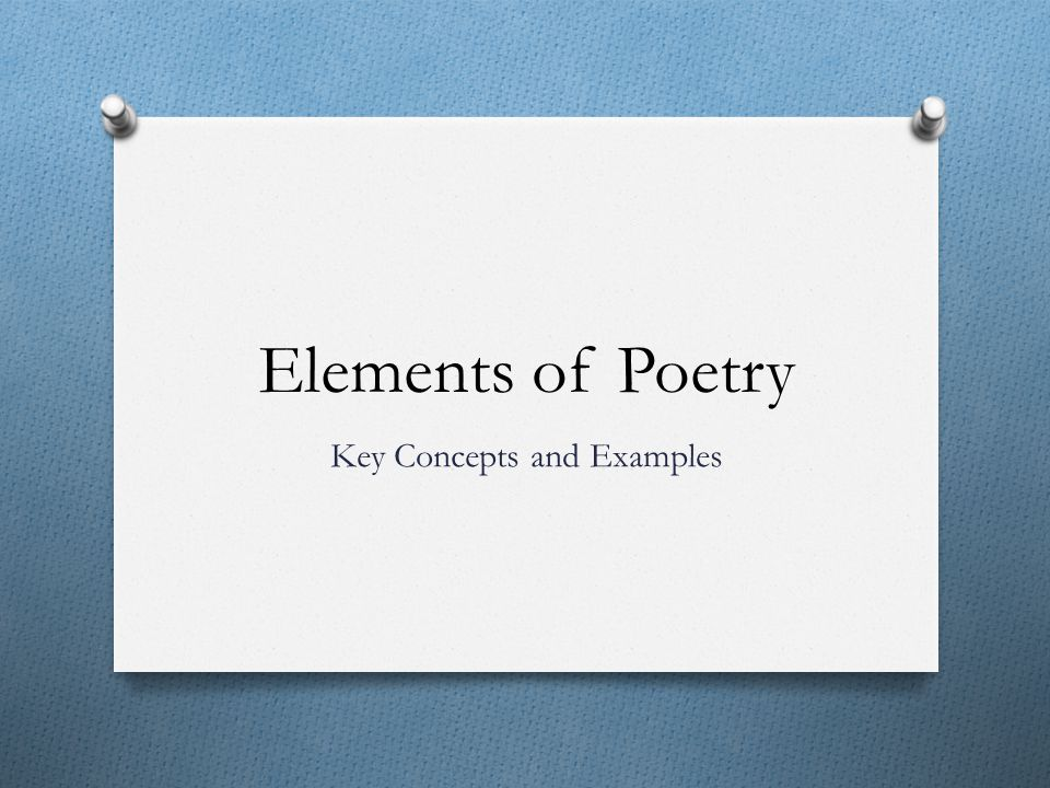 Key Concepts and Examples