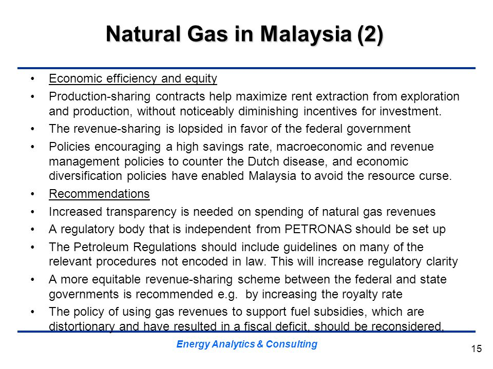 Natural Gas in Malaysia (2)