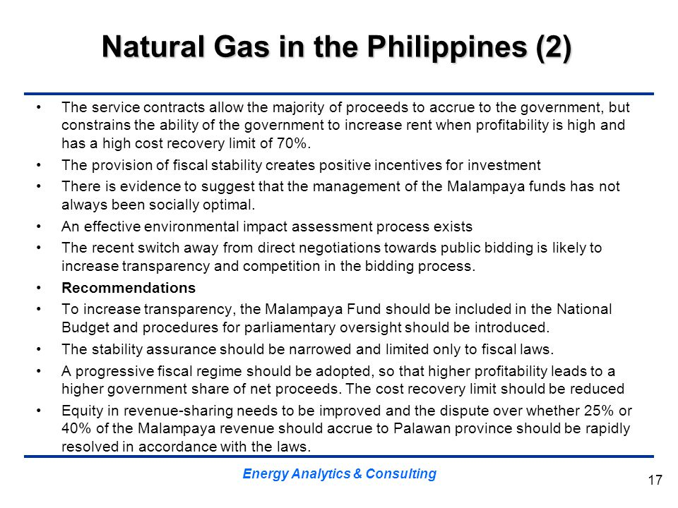 Natural Gas in the Philippines (2)