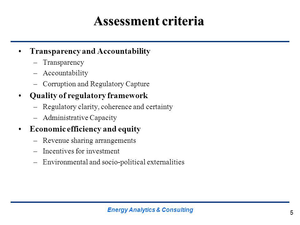 Energy Analytics & Consulting