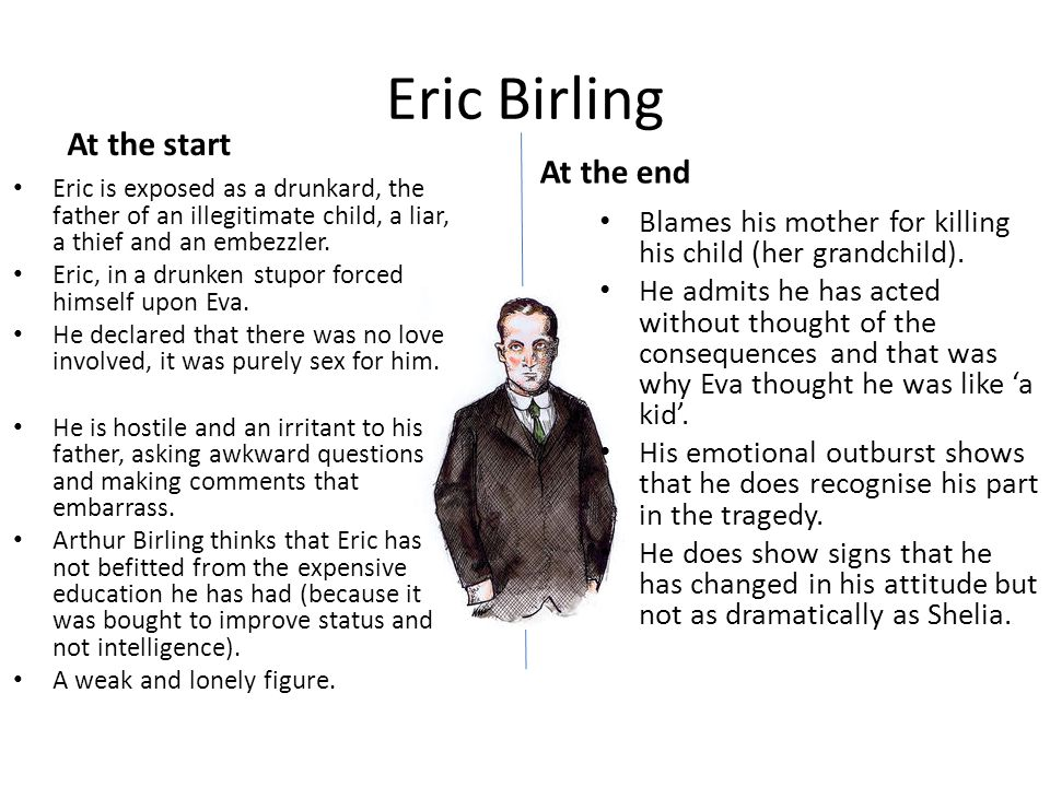eric birling and eva smith relationship help