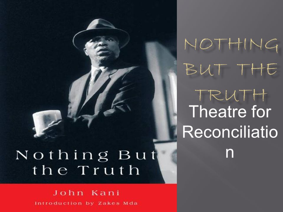 Theatre for Reconciliation