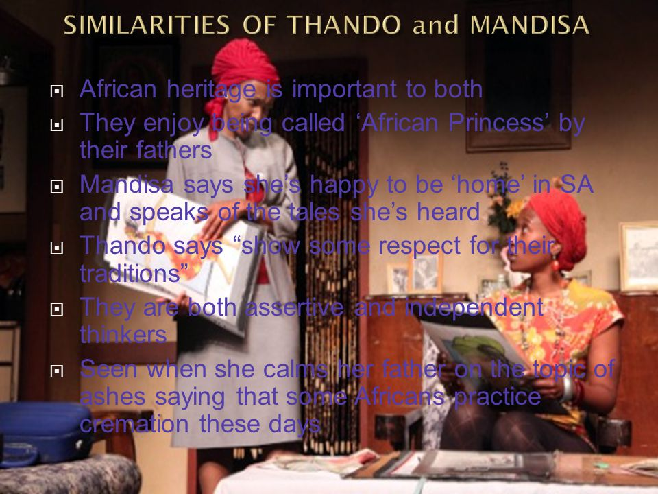 SIMILARITIES OF THANDO and MANDISA
