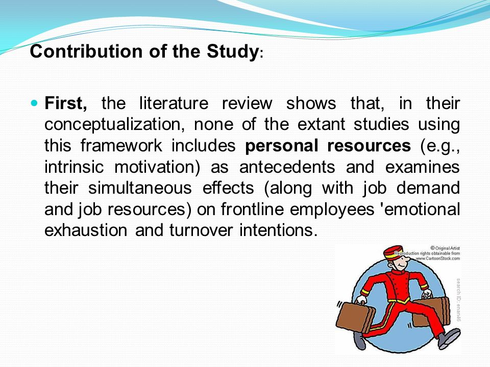 Contribution of the Study: