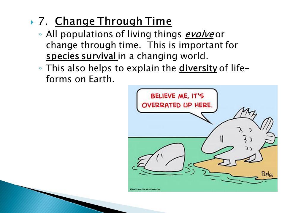 7. Change Through Time