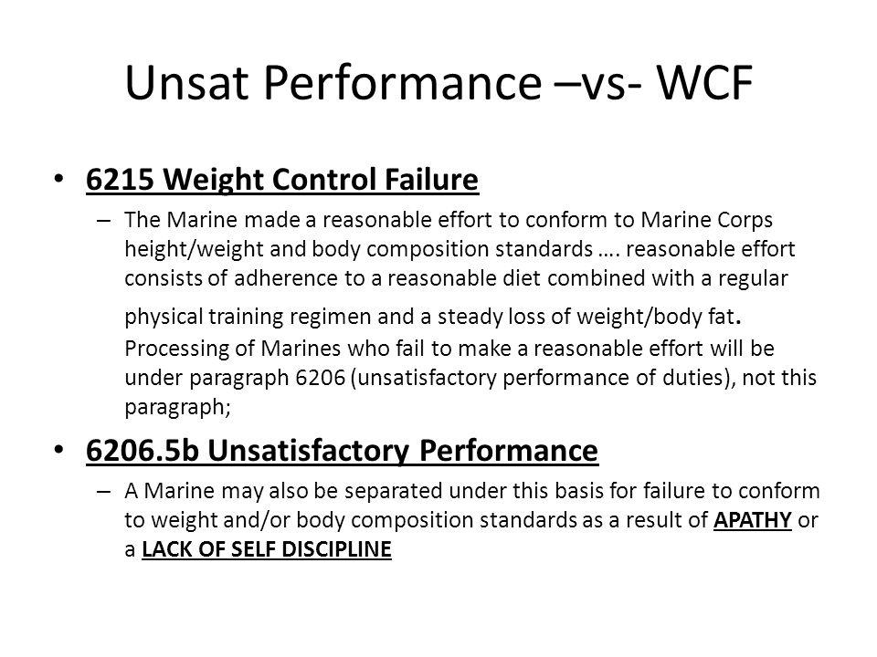 Unsat Performance –vs- WCF