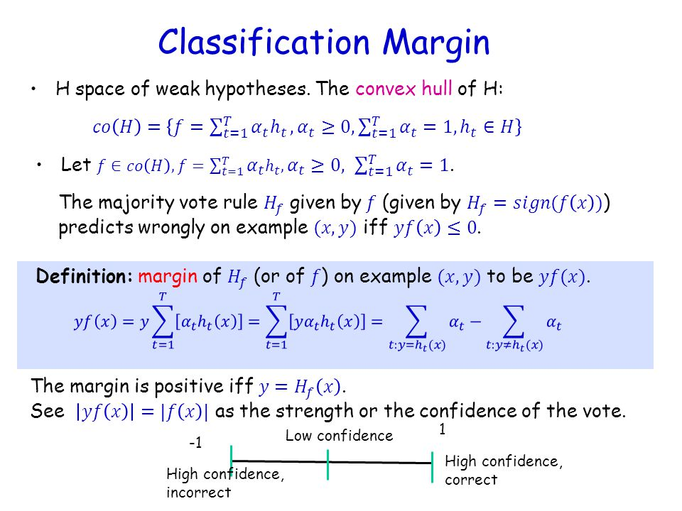 Classification Margin