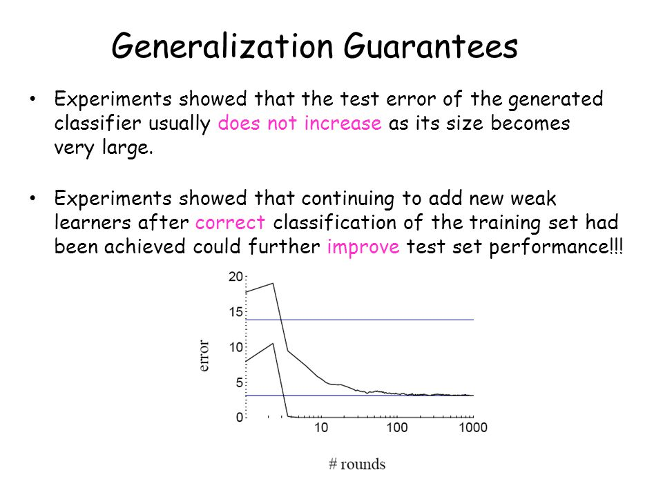 Generalization Guarantees