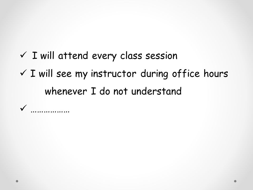 I will attend every class session