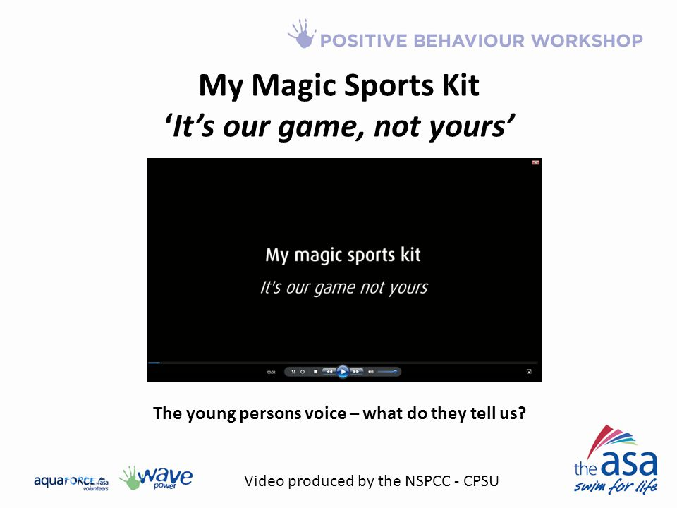 My Magic Sports Kit 'It's our game, not yours'