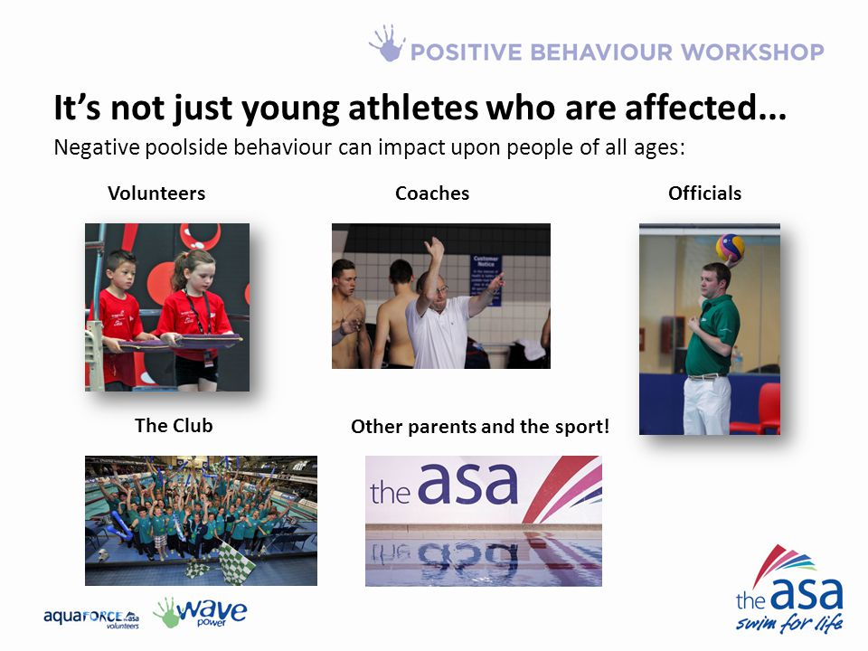 It's not just young athletes who are affected...