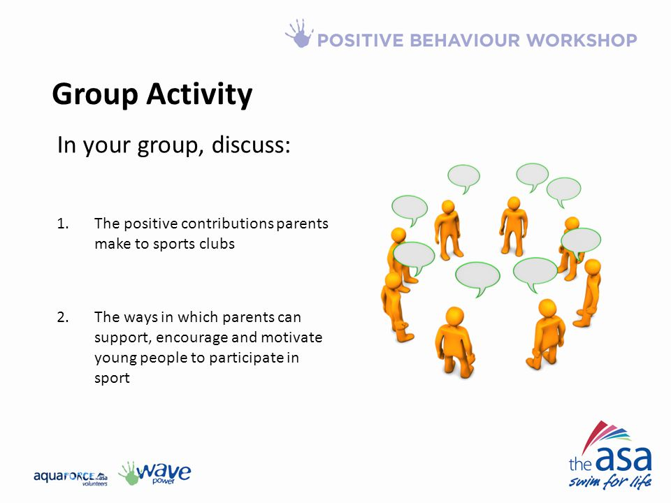Group Activity In your group, discuss: