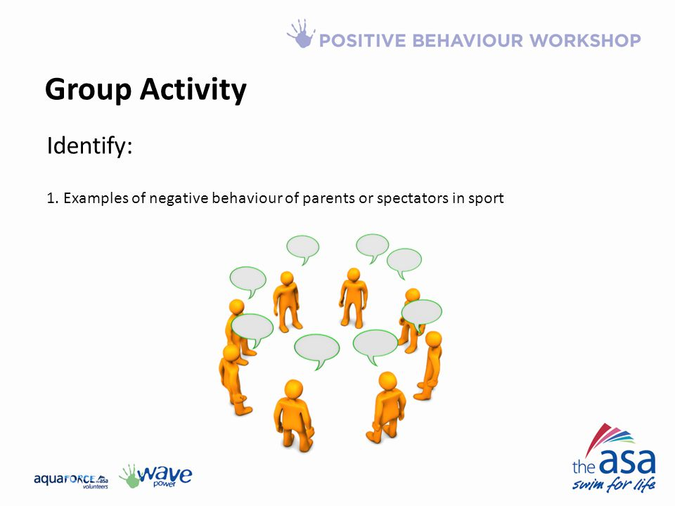 Group Activity Identify: