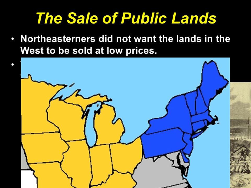 The Sale of Public Lands