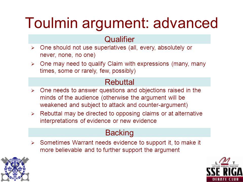 Toulmin argument toulmin argument essay