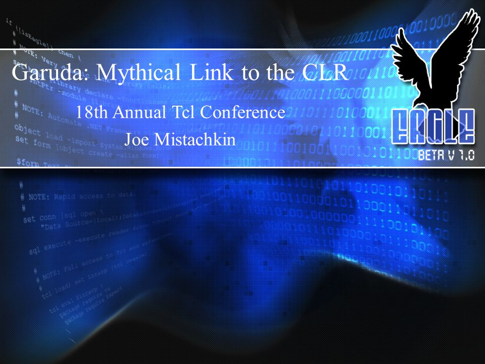 Garuda: Mythical Link to the CLR