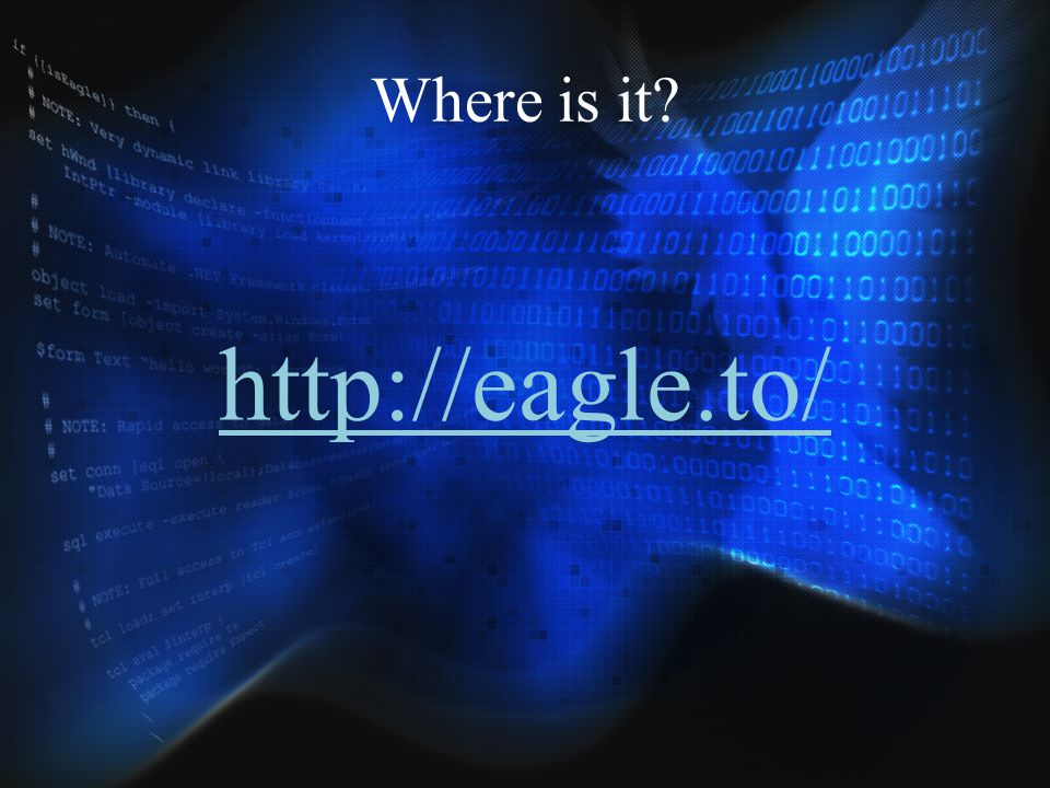 Where is it http://eagle.to/