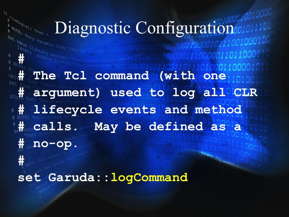Diagnostic Configuration