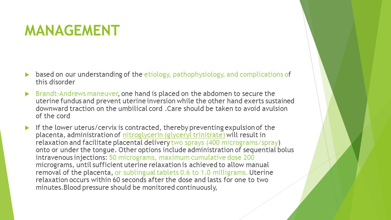MANAGEMENT based on our understanding of the etiology, pathophysiology, and complications of this disorder.