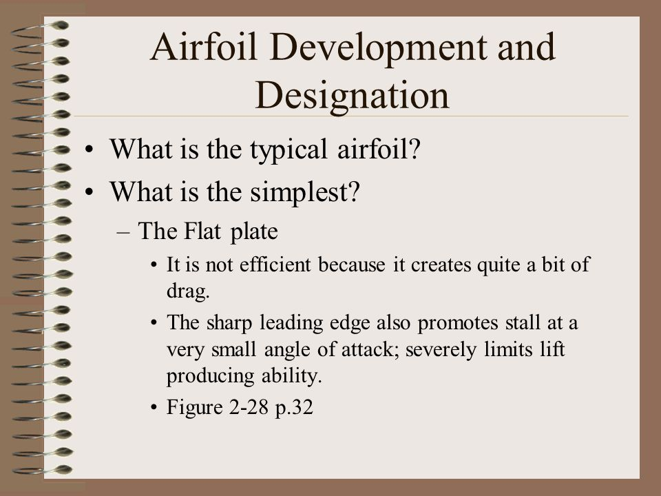 Airfoil Development and Designation