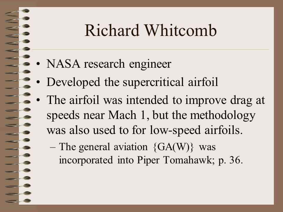 Richard Whitcomb NASA research engineer