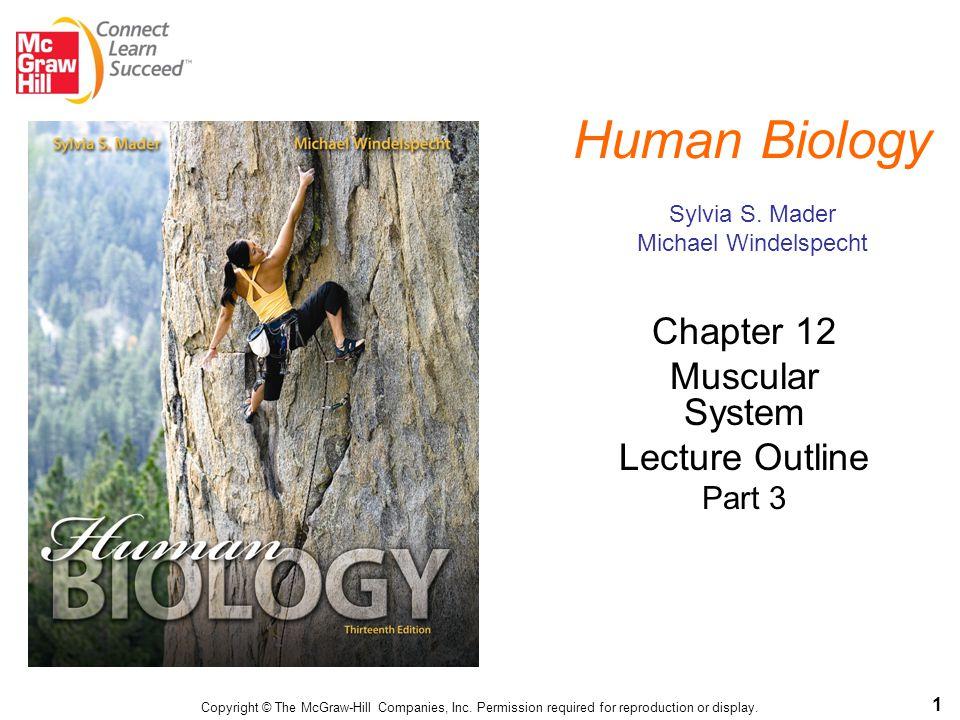 Human Biology Sylvia S. Mader Michael Windelspecht