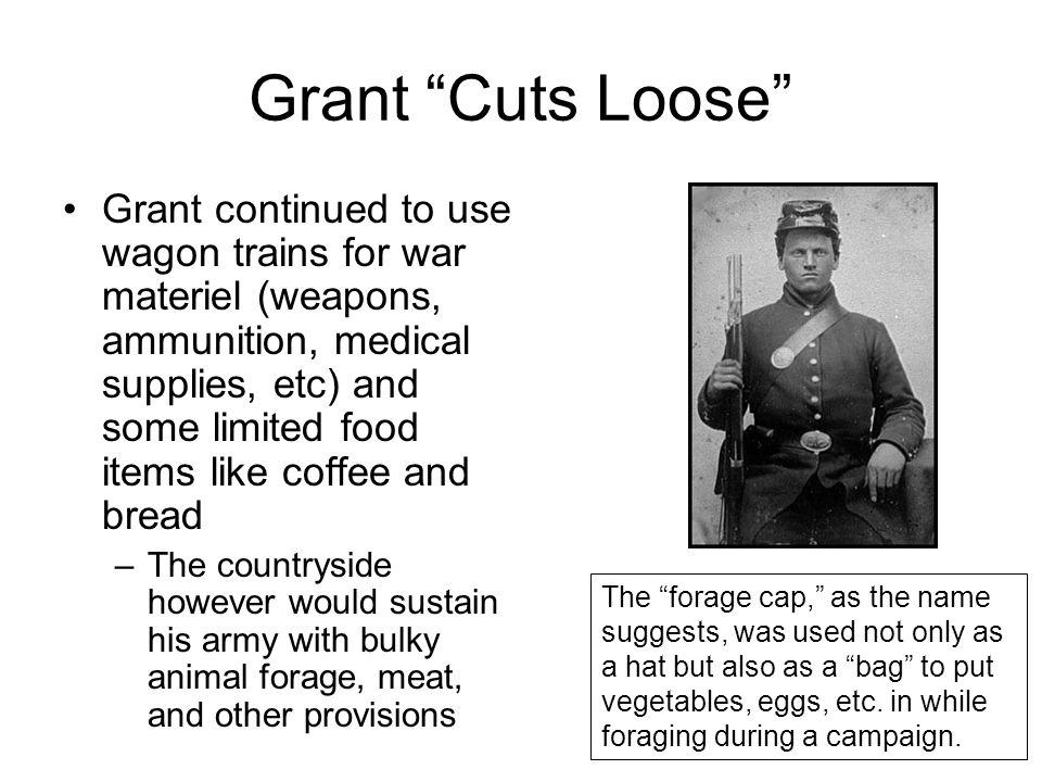 Grant Cuts Loose